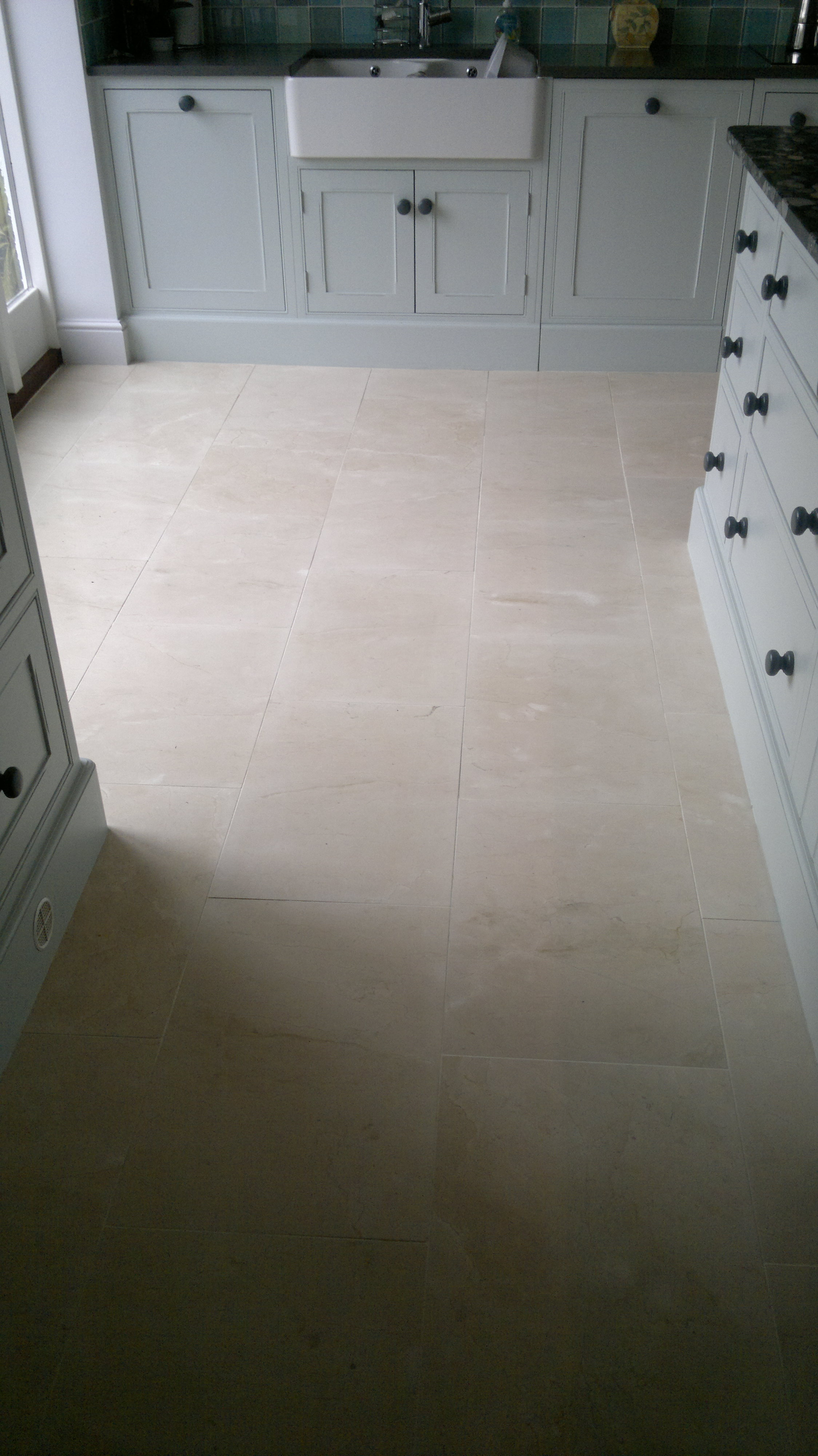 Maintaining the Appearance of Micro Porous Porcelain Tiles