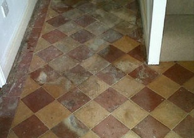 Classic but Neglected Victorian Tiled Hallway Restored in Norwich ...